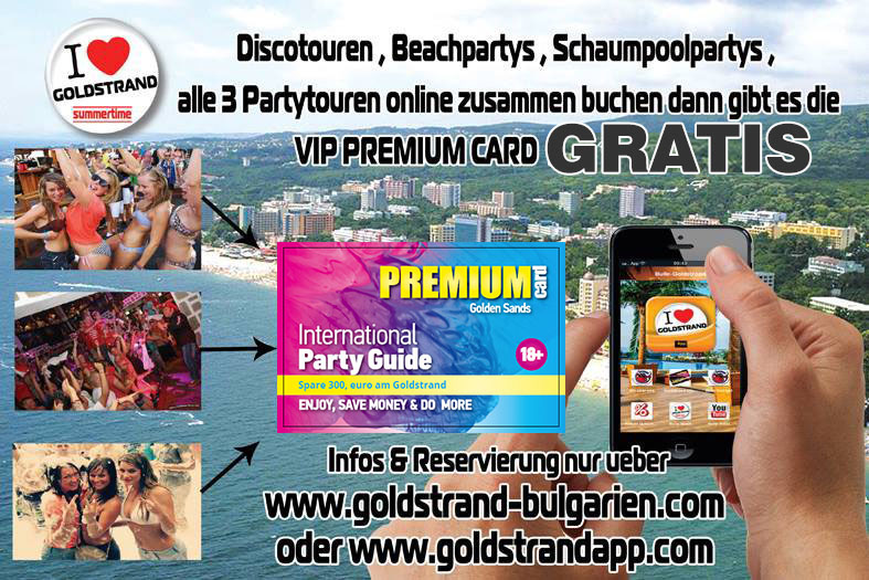 Goldstrand Party Touren Best Preis Garantie